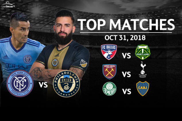 Top seven games to watch on Oct 31, 2018