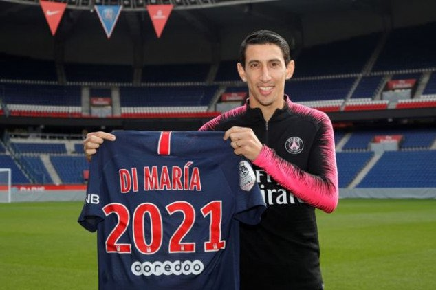 Di Maria explains why he made a U-turn on PSG exit
