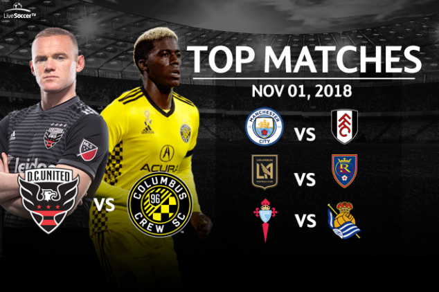 Top four matches to watch on Nov 1, 2018