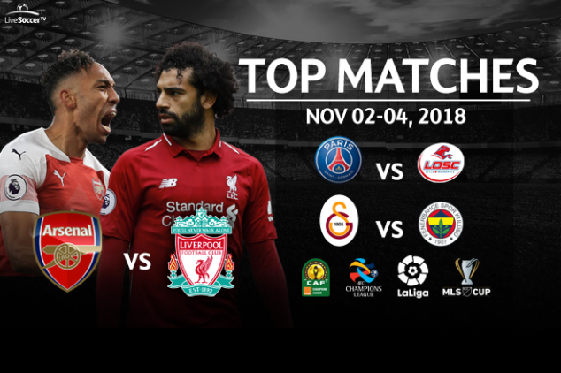 Top matches to watch from Nov. 2-4