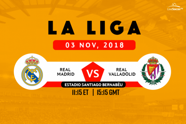 How to watch Real Madrid vs Real Valladolid live
