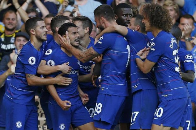 Sarri hints at the exit of two Chelsea stars