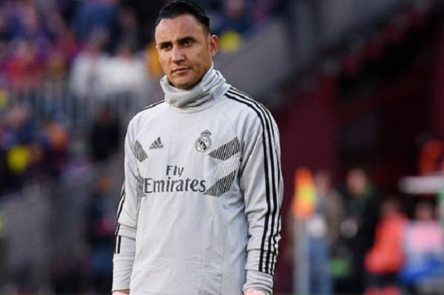 Navas shows discomfort over substitute role