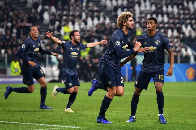 Man Utd matches 1999 UCL final feat with Juve win