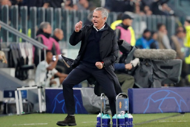Mou reveals insults prior to gesture vs Juve fans