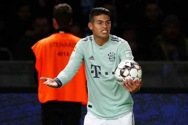James in trouble after new row vs Bayern exec