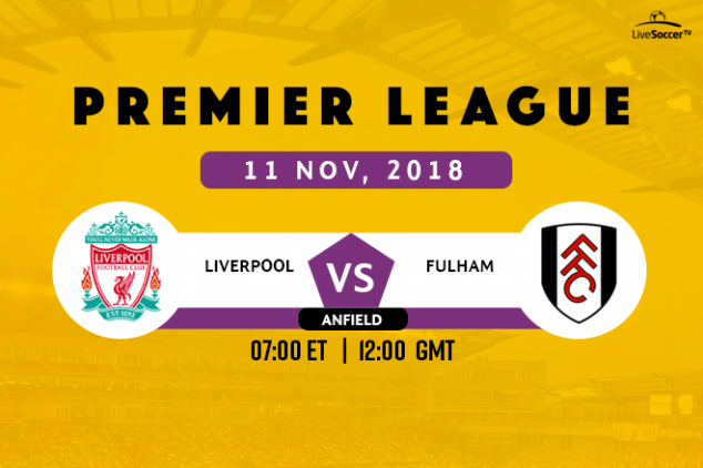 EPL: Liverpool vs Fulham broadcast information