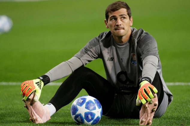 Casillas would return to Spain and Real Madrid