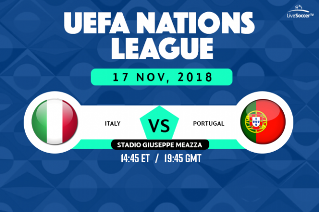 Italy vs Portugal viewing info