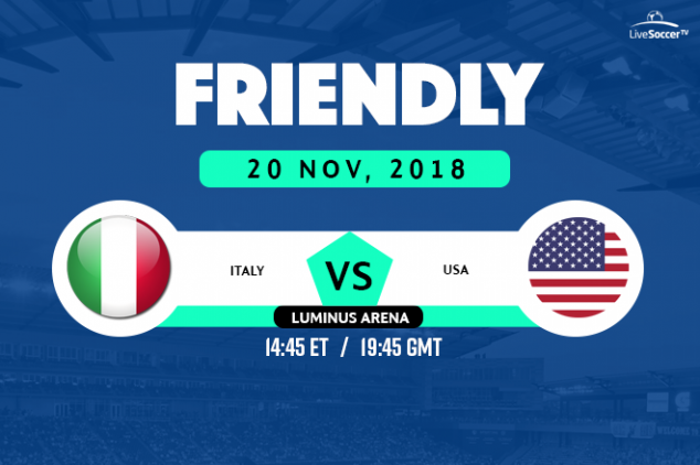 Italy vs USA viewing info