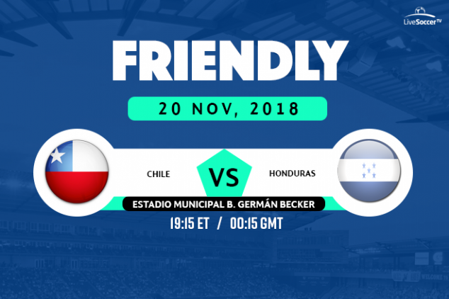 Chile vs Honduras broadcast info