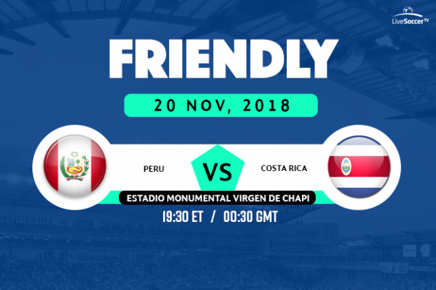 Peru vs Costa Rica broadcast info