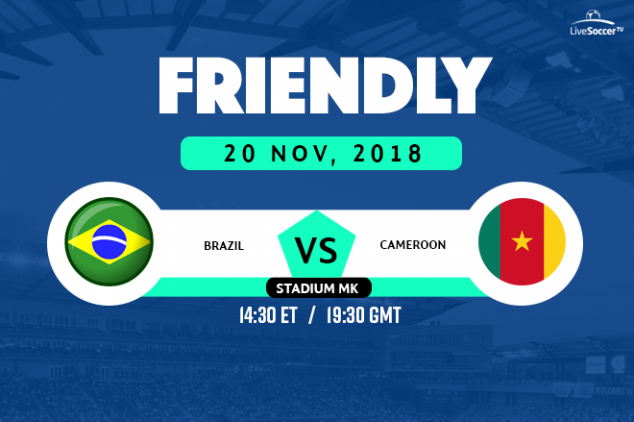 Where to watch Brazil vs Cameroon