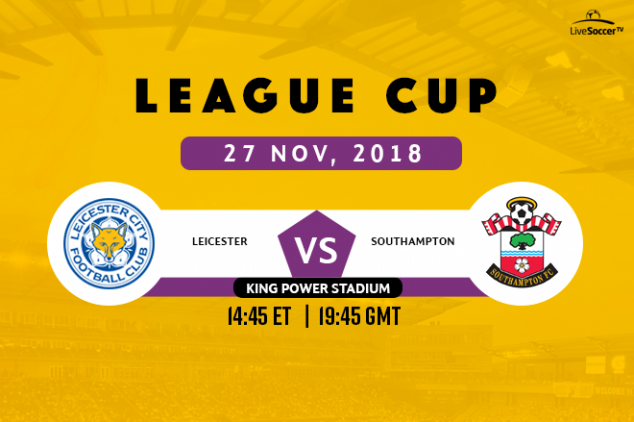 Where to watch Leicester vs Southampton