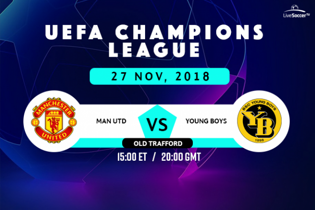 Manchester United vs Young Boys broadcast info