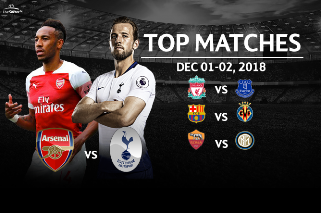 Top six games to watch this weekend