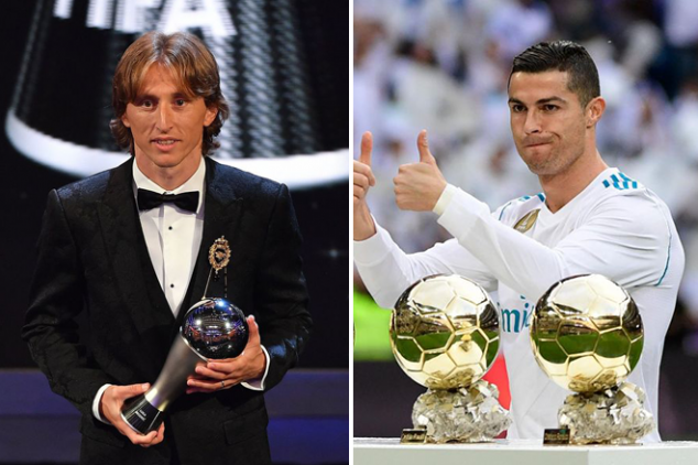 Top three for 2018 Ballon d'Or leaked