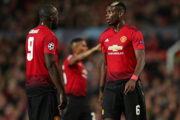 Fans react to Pogba and Lukaku's omission