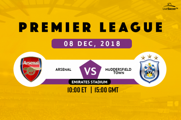 How to watch Arsenal vs Huddersfield