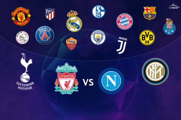 The UCL fate of Liverpool, Napoli, Spurs, and Co