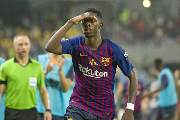 Dembelé scores stunner for Barcelona - Video