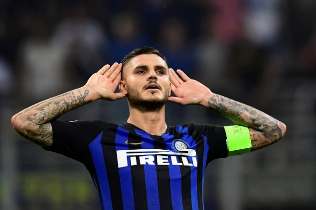 Icardi sets new club record with PSV goal````````