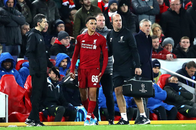 Liverpool left with worrisome defensive injuries