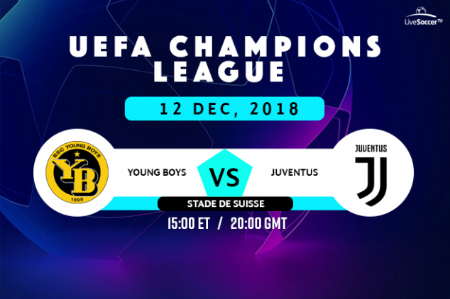 Young Boys vs Juventus viewing info