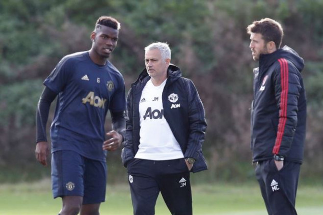 Mourinho orders players to train on Christmas Day