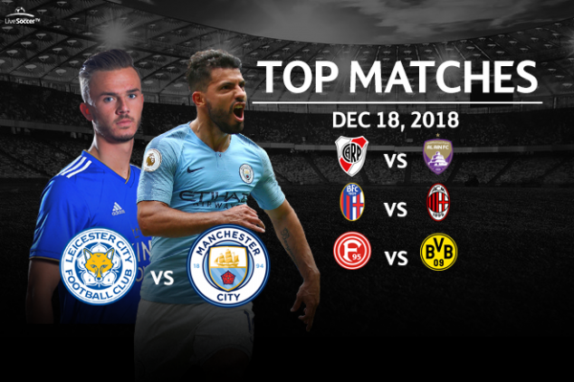 Top four matches to watch on Dec. 18, 2018