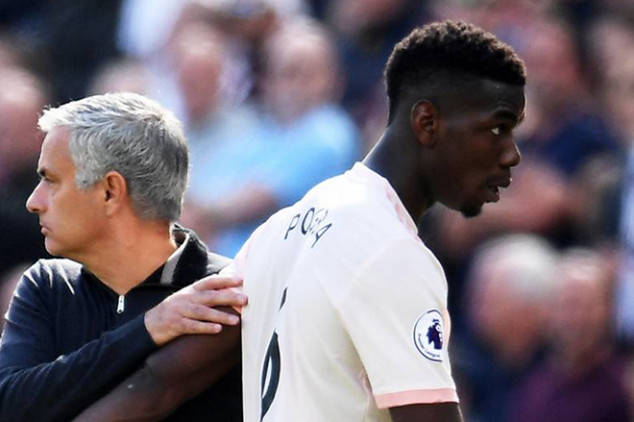How Pogba and Co. reacted to Jose's exit