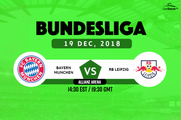 Bayern Munich vs RB Leipzig viewing info