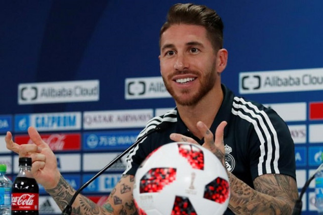 Ramos aims dig at Mou over links to Madrid