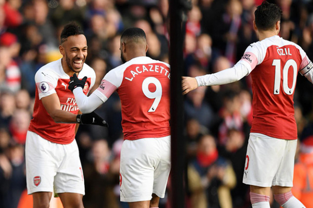 Arsenal ends awful record in Burnley win
