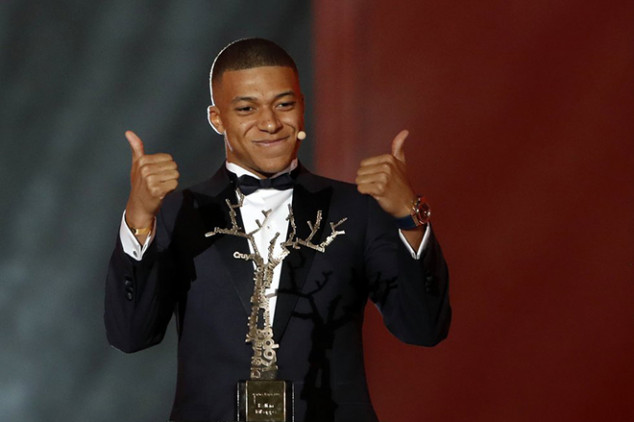 Mbappe named French Footballer of the Year