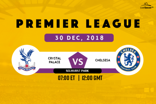 Crystal Palace vs Chelsea viewing info