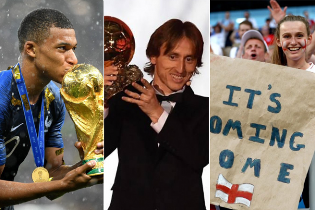 Football's top 10 moments in 2018