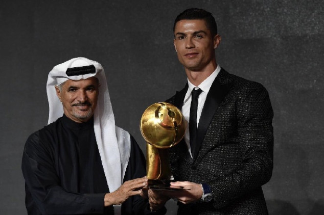 CR7 snubs Madrid in GSA acceptance speech
