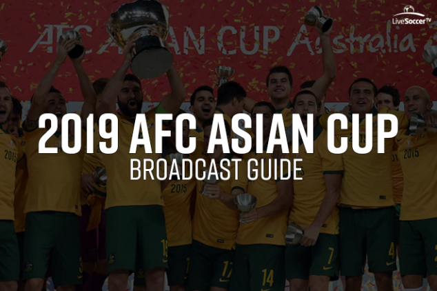 2019 AFC Asian Cup broadcast guide