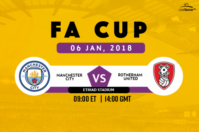 FA Cup - Man City vs Rotherham broadcast info