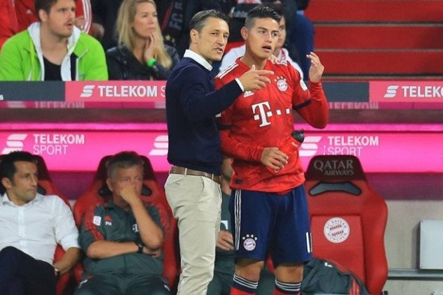 Kovac sends direct message to James
