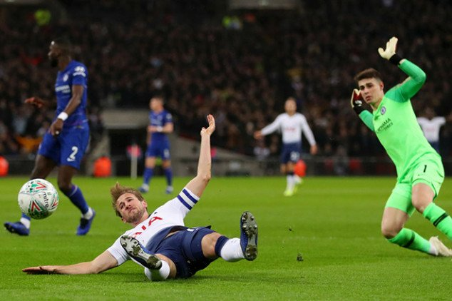 Fuming Sarri proves Kane was offside