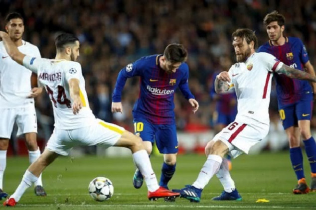 Roma pays tribute to Messi with cheeky tweet
