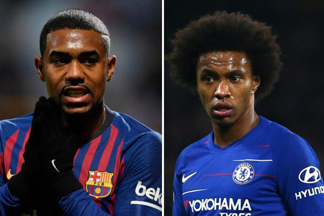 Chelsea responds to Barca's Malcom-plus-cash offer