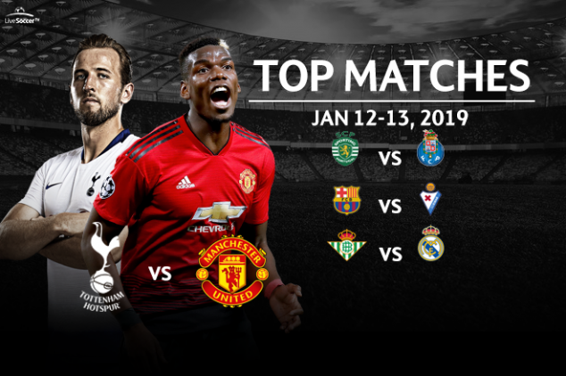 Top seven matches on January 12-13, 2019 weekend