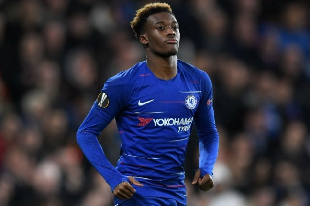 Robben sends message to Callum Hudson-Odoi