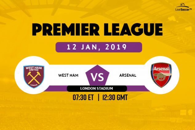 Where to watch West Ham vs Arsenal