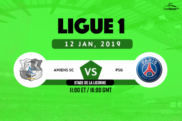 Amiens vs PSG viewing info
