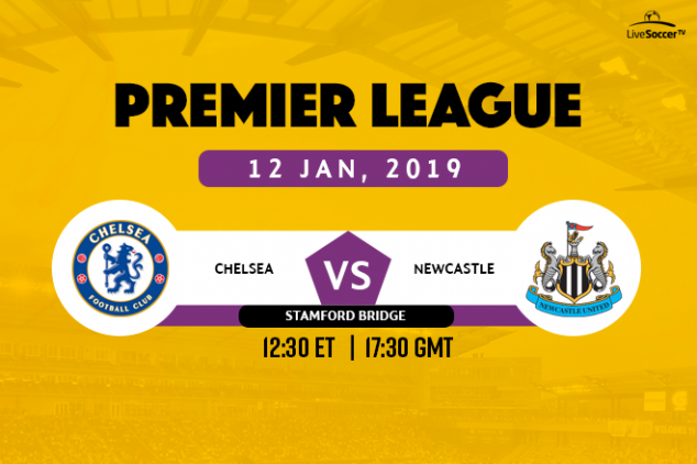 Chelsea vs Newcastle viewing info