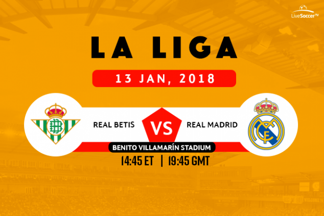 Real Betis vs Real Madrid broadcast info